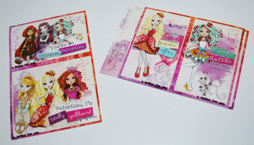Ever after high valentines (2)