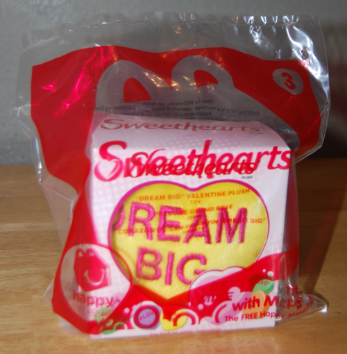 Happy meal sweethearts plush toys x
