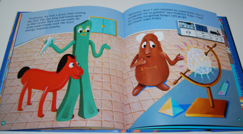 Gumby goes to the sun book 11