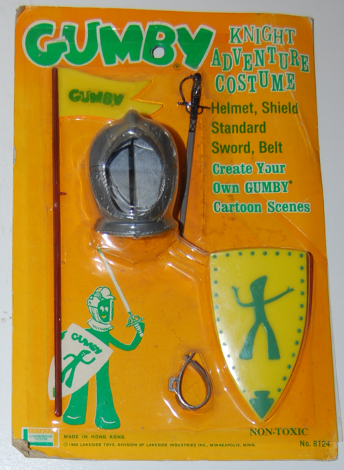 Lakeside gumby knight costume