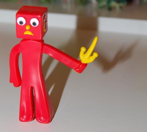 Gumby ninja playset 8