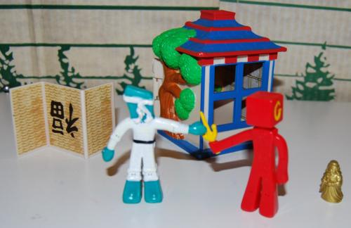 Gumby ninja playset 3