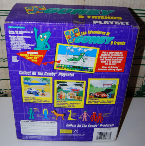 Gumby playset box 2