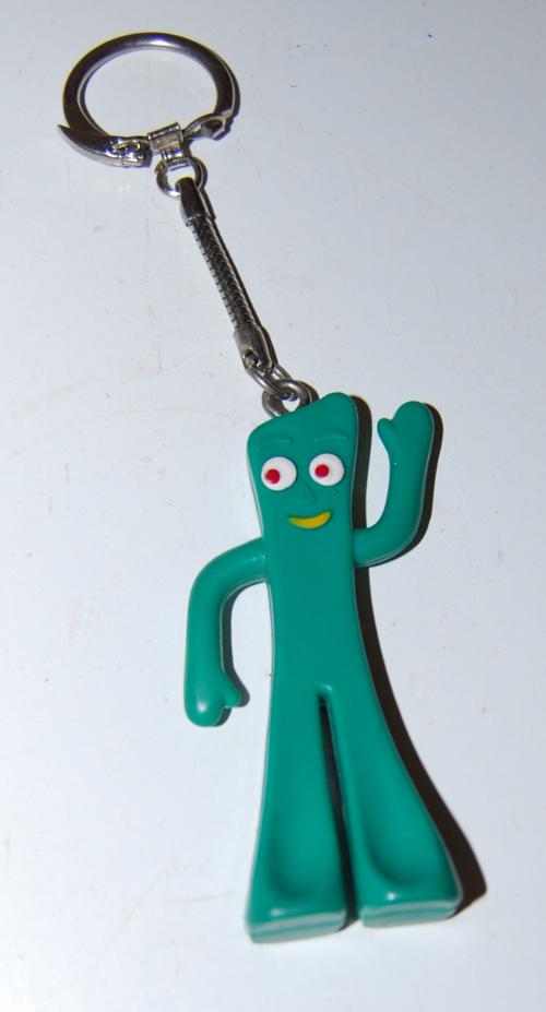 Gumby keychain