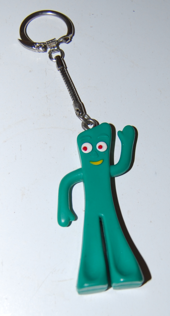 gumby keychains