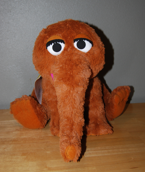 Mr snuffleupagus plush