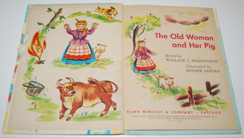 The old woman & her pig elf book 1