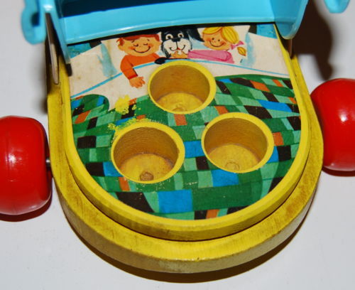 Vintage fisher price old woman who lived in a shoe 5