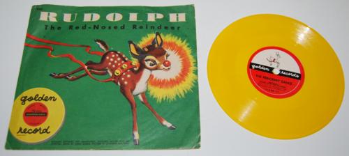 Vintage golden records for children