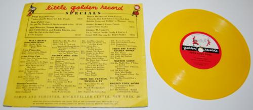 Vintage golden records for children 6