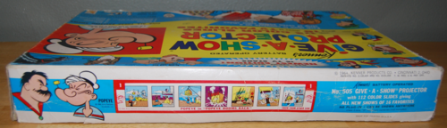 Kenner give a show projector 10