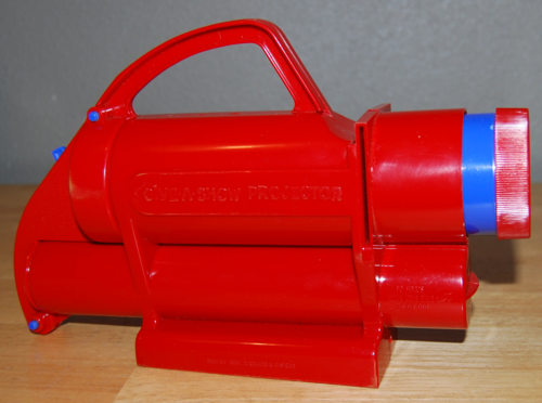 Kenner give a show projector 7