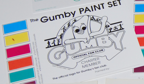 Gumby fan club stuff 4
