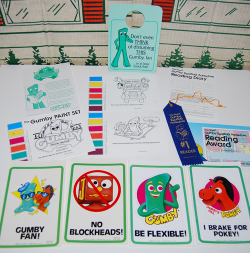 Gumby fan club stuff 3