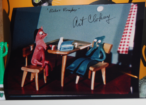 Signed gumby photo 2