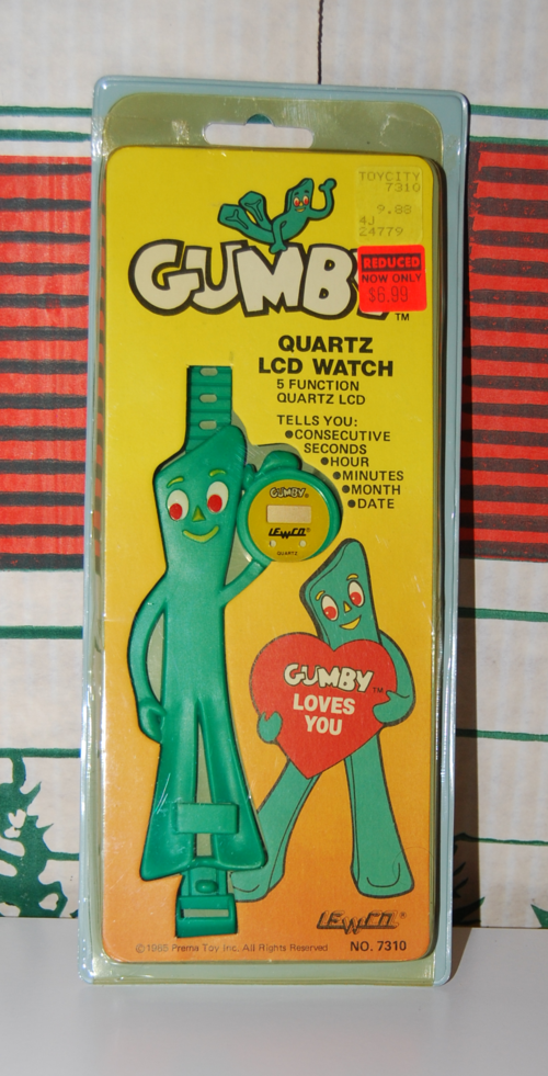 Lewco gumby watch