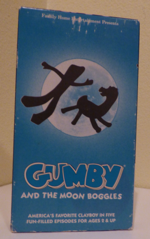 Gumby & the moon boggles vhs