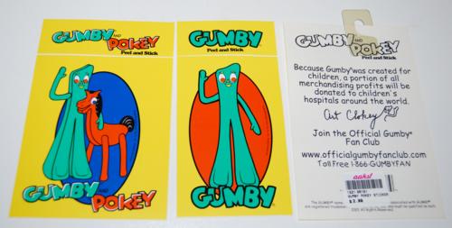 Gumby decals