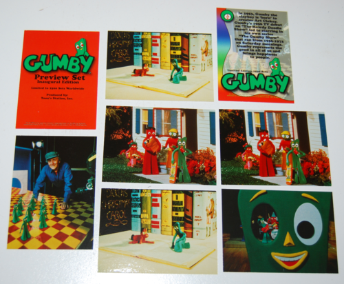 Gumby collector card preview set 1