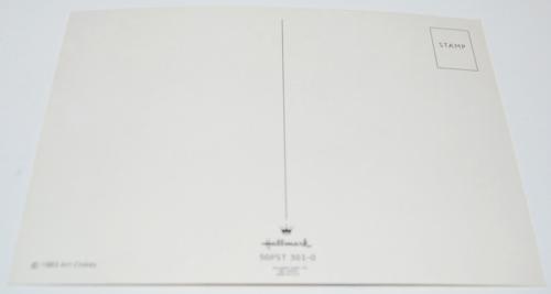 Gumby postcard x