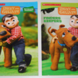 Davey & goliath coloring books