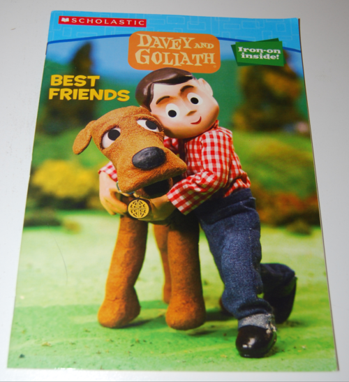 Davey & goliath coloring books 1