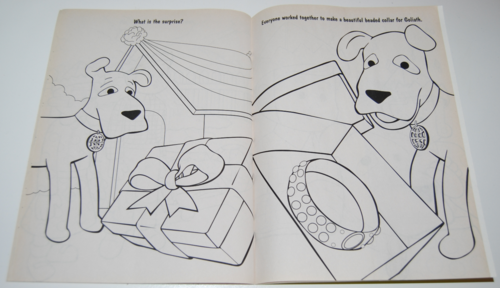 Davey & goliath coloring books 15