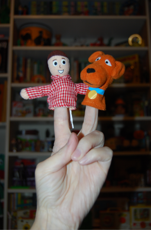 Davey & goliath finger puppets 3