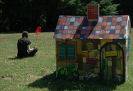 Patchwork playhouse