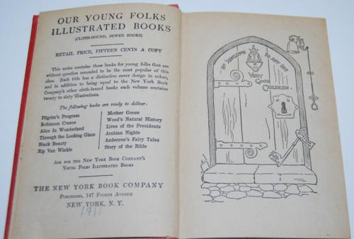 Alice's adventures in wonderland ny book co 1911 2