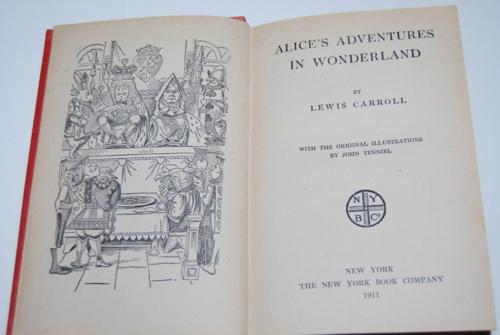 Alice's adventures in wonderland ny book co 1911 3