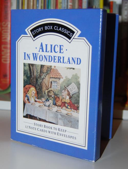 Alice in wonderland notecard set