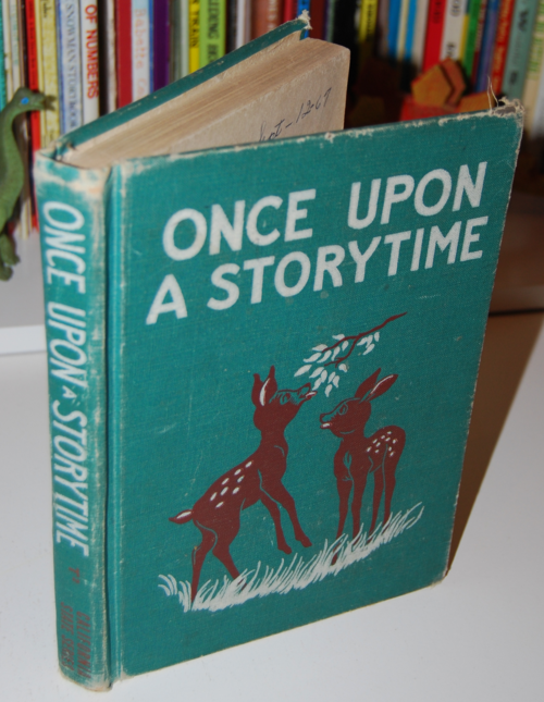 Once upon a storytime vintage reader