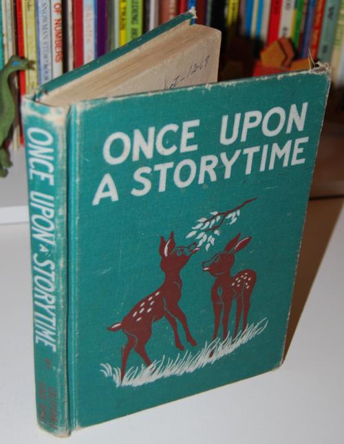 Once upon a storytime vintage reader