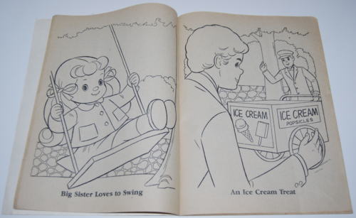 The sunshine family whitman coloring book mattel 1979 6
