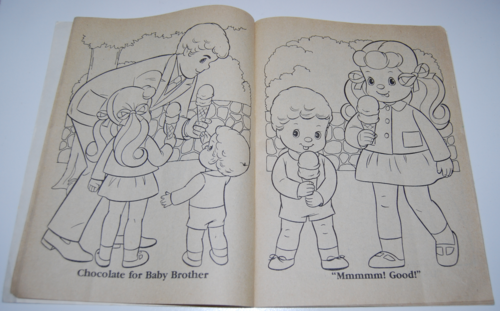 The sunshine family whitman coloring book mattel 1979 1