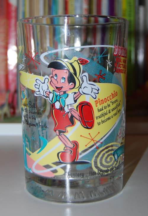 Mcdonalds disneyland glass 1