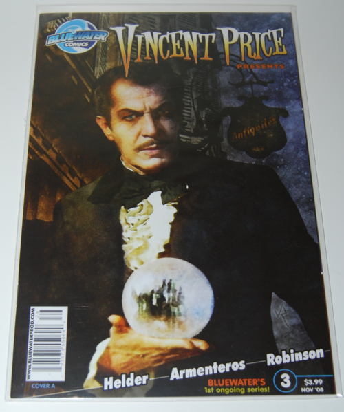 Vincent price presents comic