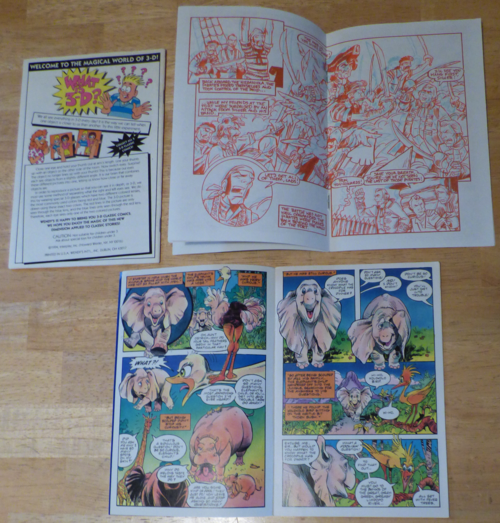 Wendy's 3d comics x
