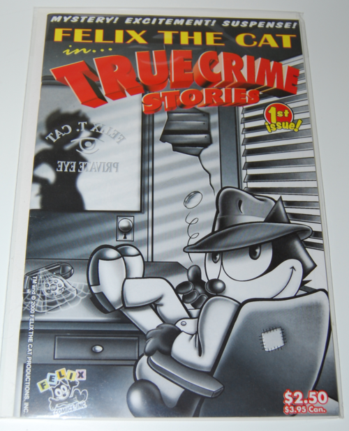 Felix the cat true crime stories comic