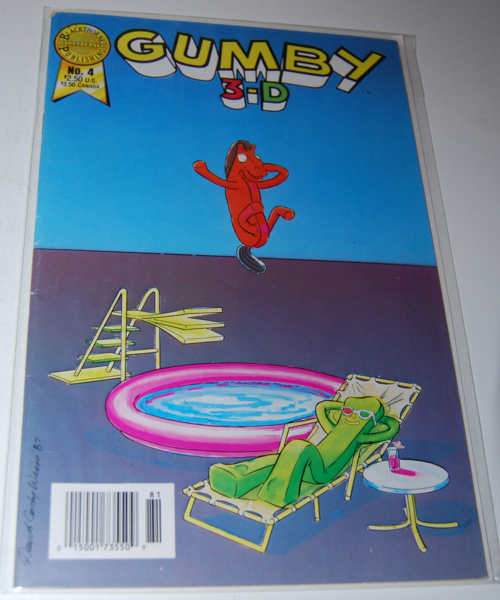Gumby 3d comic blackthorne 4