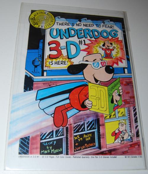 Gumby 3d comic blackthorne 7x