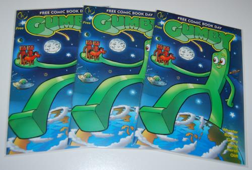 Gumby fcbd comics