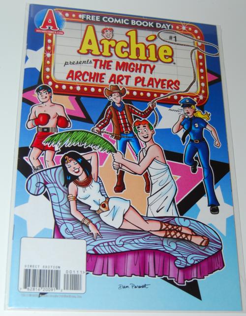 Archie fcbd comic