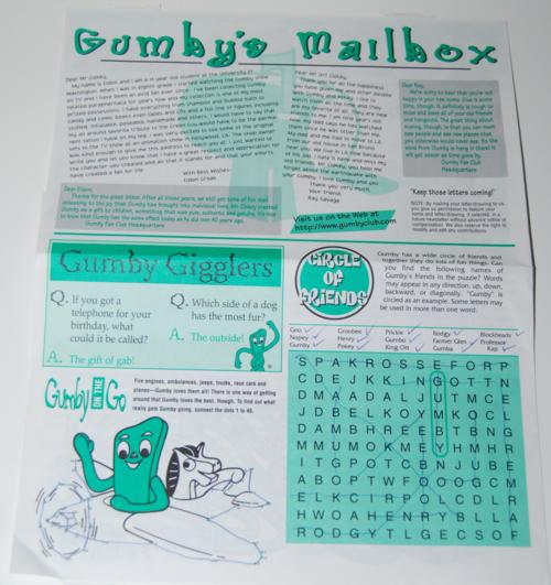Gumbygram newsletter 1