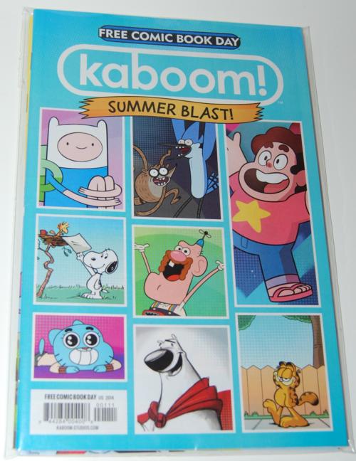 Kaboom fcbd comic