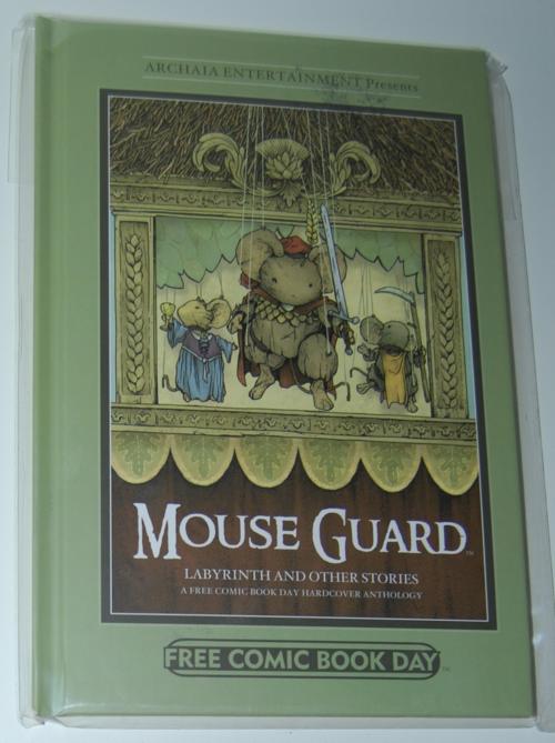 Mouseguard book