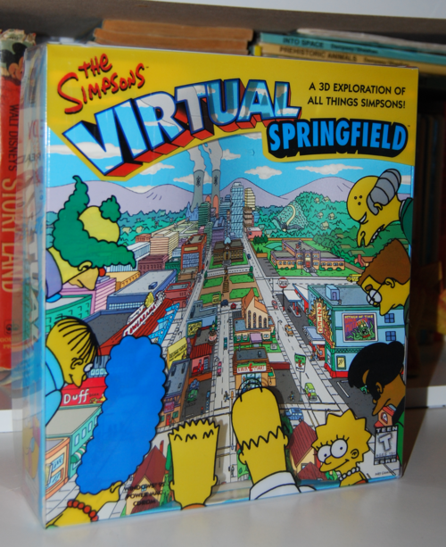 The simpsons virtual springfield