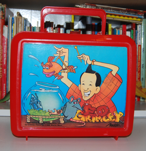 Ed grimley lunchbox