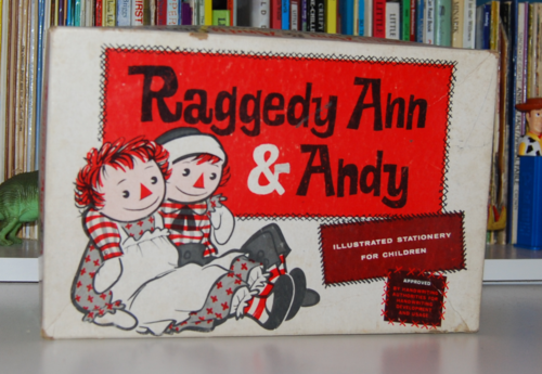 Raggedy ann stationery